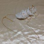 スターカットクリスタル(8mm)ネックレス、ピアス、イヤリング