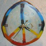 掛け時計「Peaceチャクラ」